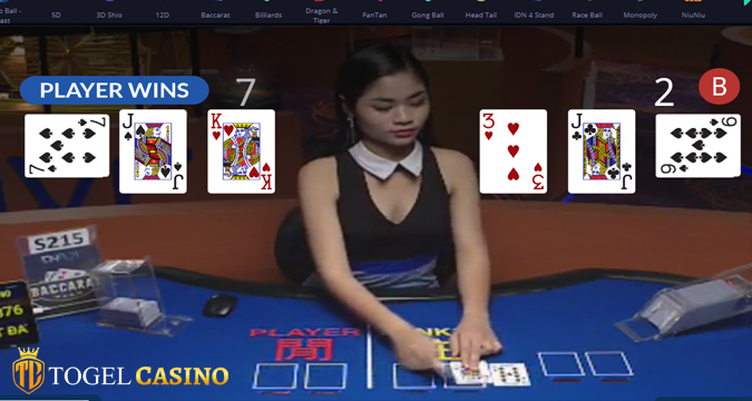 Live Games Casino Online Baccarat