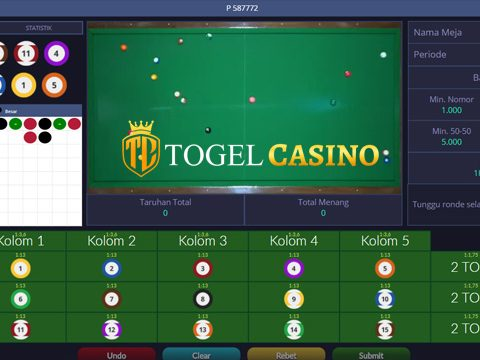 Live Games Casino Online Billiards